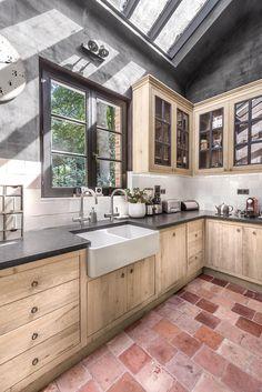 Eiken Project | Landelijke keuken | Massieve eik | Luxus Wonen