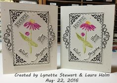 Holmade Laura: August 22 Stampfest at Lynette's