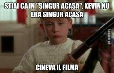 Kevin nu era chiar singur acasa Best Quotes, Funny Quotes, Funny Memes, Jokes, Real Memes, Love Memes, Cringe, Cartoon Network, Funny Pictures