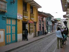 The street my school was on - Calle Lourdes - Loja, Ecuador