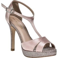 Kaye - Stunning leather lined high heel shoe with sparkly glitter designs along the sides High Heels, Shoes Heels, Pink Glitter, Shoe Collection, Leather Shoes, Ankle Strap, Fashion Shoes, Footwear, Sandals