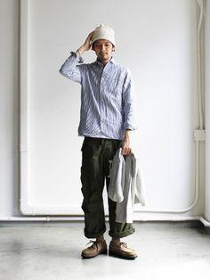 IMG_4277 Japan Fashion, Daily Fashion, Boy Fashion, Korean Fashion, Mens Fashion, Fashion Outfits, Muji Style, Preppy Boys, Style Masculin