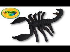 Scorpion Air Dry or Polymer Clay / Fondant Tutorial