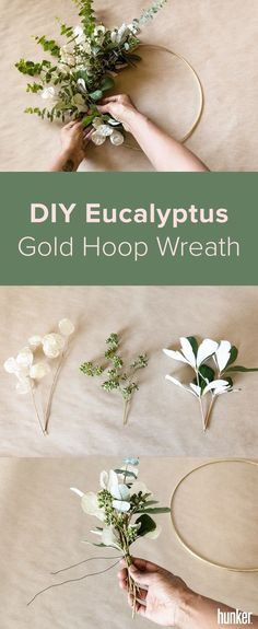 DIY Eucalyptus gold