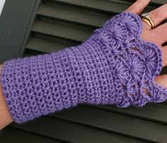 Arm warmers Fingerless Gloves In Lavender by CandacesCloset, $32.00