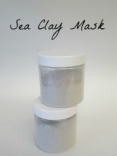 Invigorate your skin with this cleansing Sea Clay Mask!