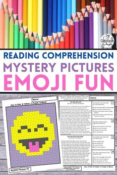 Help your students practice and improve their reading comprehension skills with fun coloring mystery pictures. Students will answer multiple-choice reading questions about a short passage and then check their answers by coloring the correct number. If you are looking for a break from boring worksheets this coloring activity is for you. #readingactivities #mysterypictures #readingcomprehension