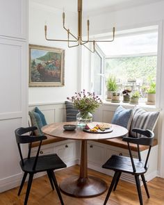 Beautiful kitchen nook for modern farmhouse