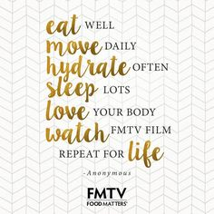 Have you done all these things today?  Want to know how you too can be an FMTV member & kick-start your journey to health: https://www.fmtv.com/join-today