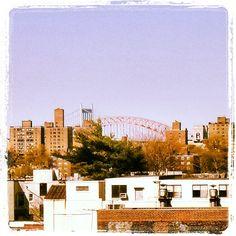 Australian Abroad: #sydneyharbourbridge in #nyc? #newyork #photo #bridge #queens #bronx