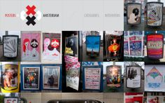 Posters in Amsterdam | Core77 2012 Design Awards Visual Communications Professional Runner Up | By Jarr Geerligs