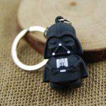 Black Soldier Key Ring Pendant 4cm ...