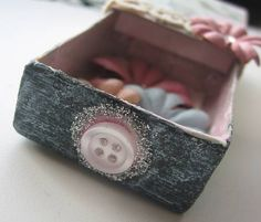 Image detail for -Another matchbox shrine! - PAPER CRAFTS, SCRAPBOOKING & ATCs (ARTIST ...