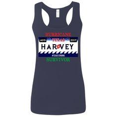 Women's - Hurricane Harvey Survivor Racerback Tank Top