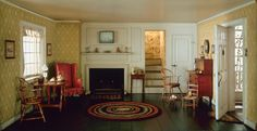 Thorne Miniature Rooms: Cape Cod Living Room, 1750-1850 | The Art Institute of Chicago
