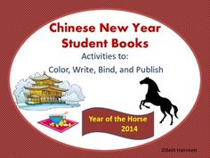 Chinese New Year Ready-to-Make Books and Activities