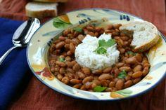 Menestra de Porotos (Ecuadoran Bean Stew)