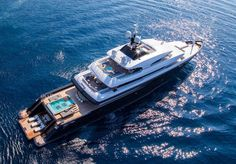 We expect to see more beach clubs on superyachts than ever before at #MYS2016 continuing a trend that has been gathering momentum for several years now. 67.5 metre Icon is a great example of this with a fold-out transom that can create an enormous sun lounging space just metres away from the aft-deck swimming pool. Check out the full list of trends expected at this year's #MonacoYachtShow in the link in bio. #superyacht #luxuryyacht #monaco #boatinternational