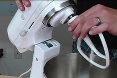 If the beater on your KitchenAid stand mixer is hitting the mixer bowl, this article's beater height adjustment tips will solve the problem.