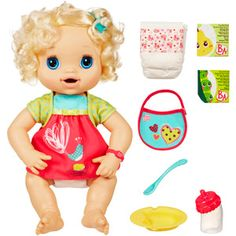 """Baby Alive Doll- Layla wants one so bad....every time she sees the commercial or one in the store she goes """"baby eat! baby eat!"""" because they show it """"eating"""" it's food and ba ba....i just can't decide if we should get it for her birthday or christmas...hm.."""
