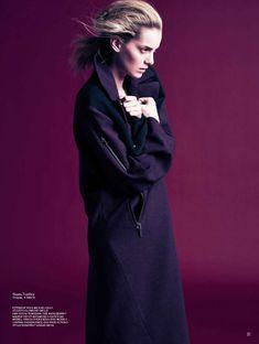 XL | Denisa Dvorakova | Ryan Michael Kelly #photography | STYLEBY 11- I so want a full body sweater dress