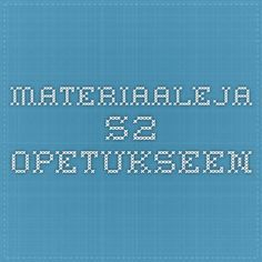 Materiaaleja S2-opetukseen Teaching Aids, Kindergarten, Weather, School, Kids, Languages, Kinder Garden, Children, Boys