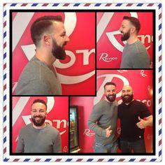 Ayer nos visito Alberto para su su barba que veremos en próximos meses donde llega, ya sabéis si queréis lucir una buena barba este verano, es el momento de comenzar.