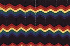 Double Ripple Crochet Afghan Pattern - cozy blanket free tutorial