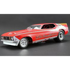 """Ford Mustang # 799 """"Vel's Parnelli Jones"""" Funny Car Model Car by Acme Mustang Cars, Ford Mustang, Mustangs, Automobile, New Sports Cars, Drag Cars, Indy Cars, American Muscle Cars, Car Humor"""