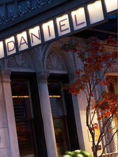One of my favorite restaurants in Las Vesgas - must do his big one in NYC. Daniel Boulud's restaurant DANIEL