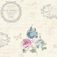 K2 Francelina Cream Wallpaper | Departments | DIY at BQ | flower