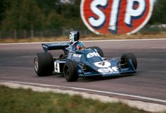Patrick Depailler - Tyrrell Ford 007 - Swedish GP, Anderstorp 1974