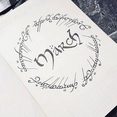 Lord of the Rings Tolkien Bullet Journal