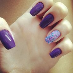 purple #Nails