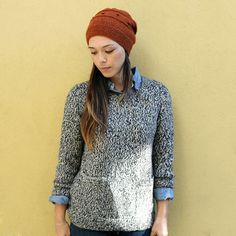 dusen dusen pocket sweater by wikstenmade