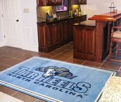 Fanmats - 06296 - UNC University of North Carolina - Chapel Hill 5 x 8 Rug, As Shown