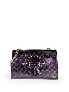 99c9234e80c825 Gucci - Emily Shine Guccissima Leather Chain Shoulder Bag