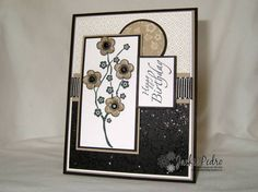 TLC186, Mojo53 Stitched Glitter by strappystamper - Cards and Paper Crafts at Splitcoaststampers