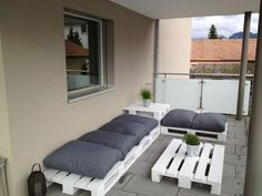 Pallets Lounge For My Terrace Pallet Lounges & Garden Sets