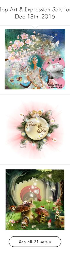 """Top Art & Expression Sets for Dec 18th, 2016"" by polyvore ❤ liked on Polyvore featuring art, Christmas, christian, holiday, doll, dolls, dollset, artset, artexpression and HesFastShesWeird"