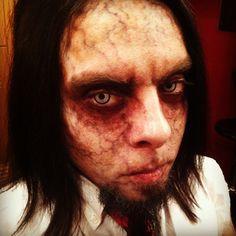 Zombie Nik Christina Kortum Fx Makeup www.ravenousstudios.com