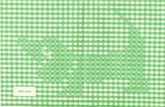 Lace 'n' Ribbon Roses: Chicken Scratch/Gingham Stitch Patterns Cross Stitching, Cross Stitch Embroidery, Embroidery Patterns, Quilt Patterns, Stitch Patterns, Chicken Scratch Patterns, Chicken Scratch Embroidery, Swedish Weaving, Gingham Fabric