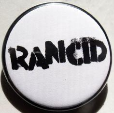 "RANCID pinback button badge 1.25"" Just $1.50 plus shipping!"