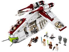 Rescue the heroes with the LEGO® Star Wars™ Republic Gunship™! Ryan's birthday gift.