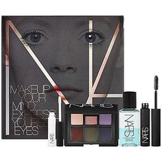 NARS Makeup Your Mind: Express Yourself Eyes: Eyeshadow Palettes & Eye Sets Gifts For Makeup Lovers, Beautiful Eye Makeup, Makeup Kit, Makeup Ideas, Beauty Makeup, Eye Make Up, All Things Beauty, Lip Colors, Makeup Yourself