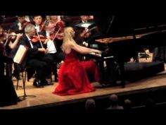 Liszt Concerto No 1 Valentina Lisitsa (part 2) - YouTube