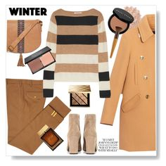 """""""Winter casual look"""" by gul07 ❤ liked on Polyvore featuring Diverso, Max&Co., MaxMara, Yves Saint Laurent, La Mer, T-shirt & Jeans, Bobbi Brown Cosmetics, Burberry, blacklUp and Dolce&Gabbana"""