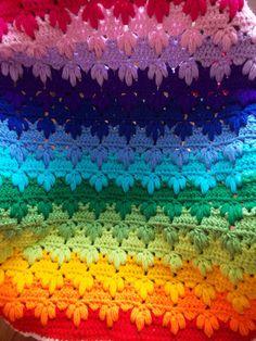 Crochet Pattern Baby Blanket Rainbow Pattern Rainbow Baby Gift Crochet Blanket Pattern Afghan Pattern How to Crochet Tutorial by Loren Ver Baby Afghan Crochet, Baby Afghans, Afghan Crochet Patterns, Baby Patterns, Baby Blankets, Rainbow Crochet, Rainbow Afghan, Ripple Afghan, Afghan Blanket