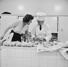 Julia Child with Chef Bugnard | Radcliffe Institute for Advanced Study at Harvard University
