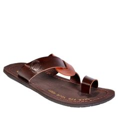 4Wheel Drive Brown Sandals